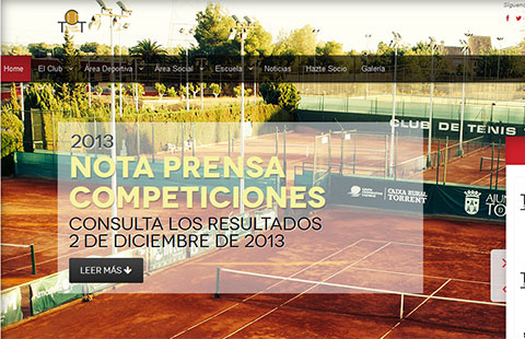 nueva web club de tenis torrent